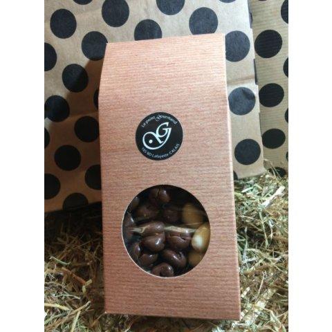 Raisins fondants enrobés de chocolat