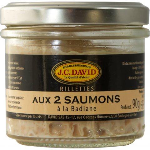 Rillettes de Saumon à la Badiane.