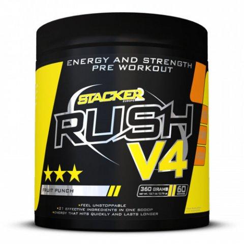 Rush V4 360g (PRE-WORKOUT)
