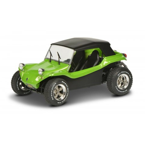 Meyers Manx Buggy Soft Roof Green 1/18 Solido