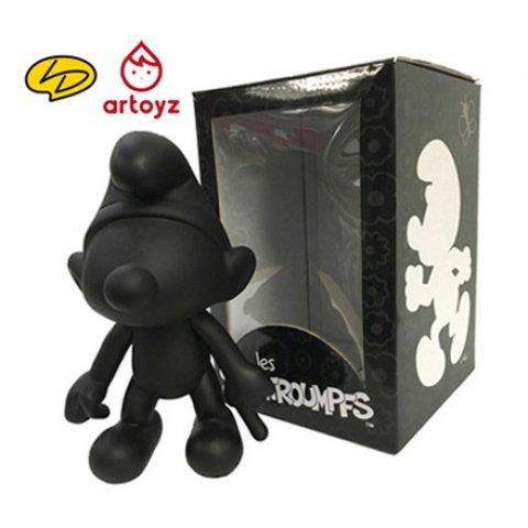 Schtroumpf Noir Artoyz 20cm Vinyle Leblon Delienne