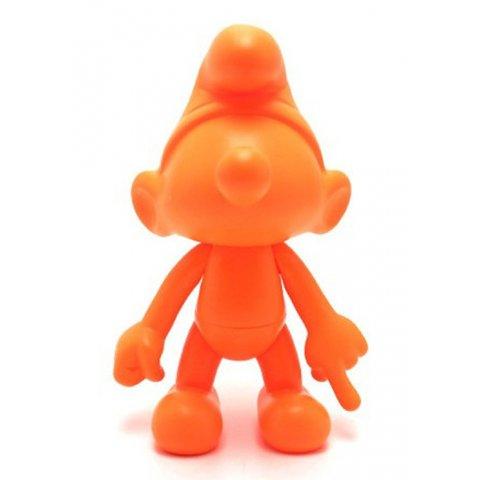 Schtroumpf orange Artoyz 20cm Vinyle Leblon Delienne