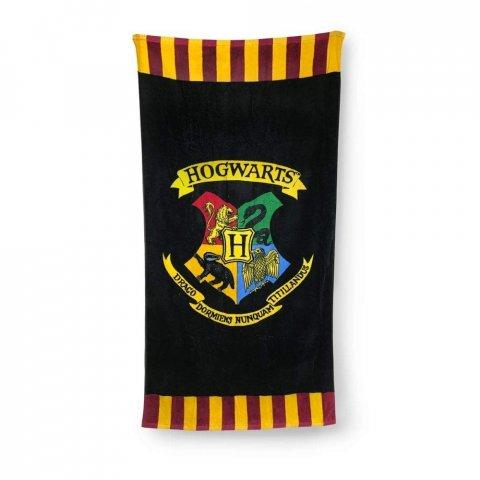 Serviette de bain Harry Potter Poudlard 75 x 150 cm