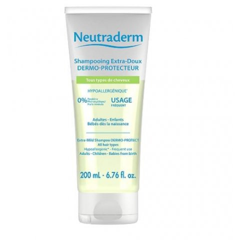 Shampoing extra-doux dermo-protecteur 200ml. NEUTRADERM.