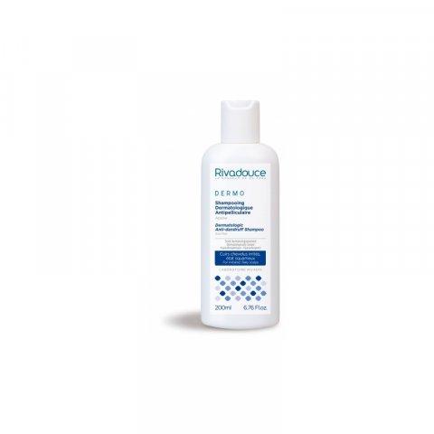 Shampooing dermatologique antipelliculaire flacon de 200ml. RIVADOUCE.