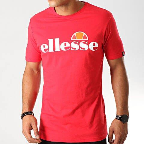 Tee Shirt Homme ELLESSE Prado Rouge S/XL