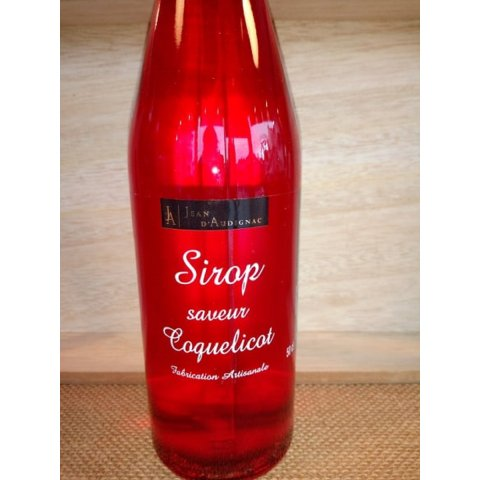 Sirop coquelicot