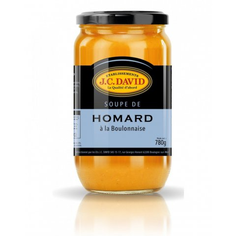 Soupe de Homard à la Boulonnaise Ets J.C DAVID