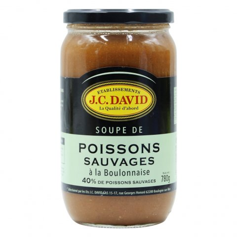 SOUPE POISSONS SAUVAGES 40%