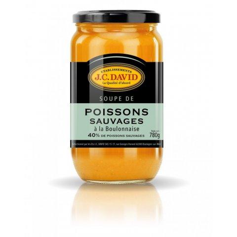 Soupe de Poissons sauvages à la Boulonnaise  Ets J.C DAVID