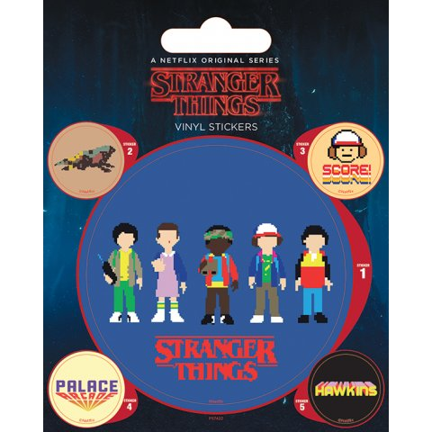 Stickers Stranger Things Arcade