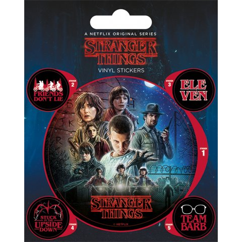 Stickers Stranger Things Onze