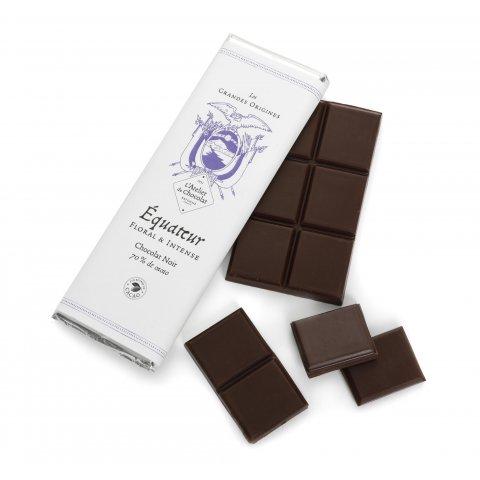 Tablette Chocolat Grandes Origines Equateur.