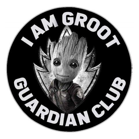 Tapis Gardiens de la Galaxie I am Groot