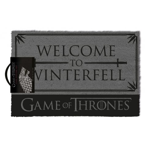 Tapis Paillasson Game Of Thrones Welcome to Winterfell