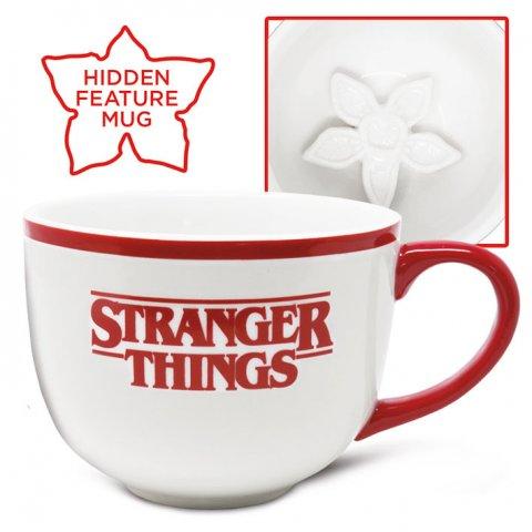 Tasse cappuccino Stranger Things Demogorgon 3D