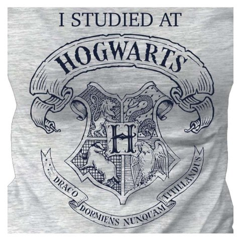 Tee-Shirt Harry Potter Fille I studied at Hogwarts