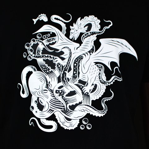 T-shirt homme 'Dragon des mers'