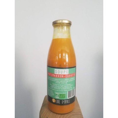 Soupe Potimarron-carotte