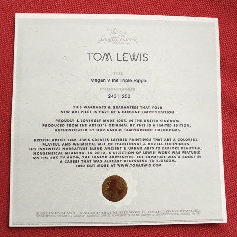 Coussin 45x45 Tom Lewis série limitée