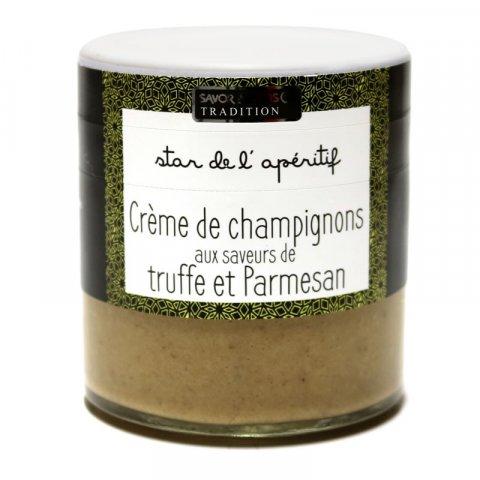 Crème de Champignons, truffe et Parmesan
