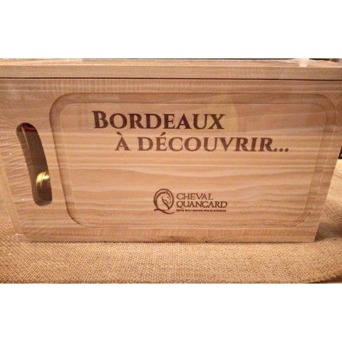 Coffret Vin de Bordeaux