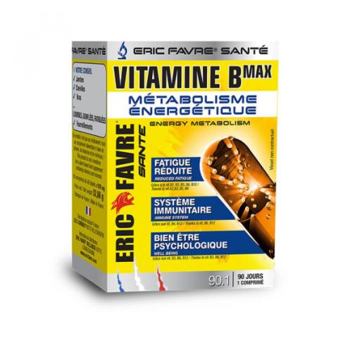 VITAMINE B MAX ERIC FAVRE - 90 CPS