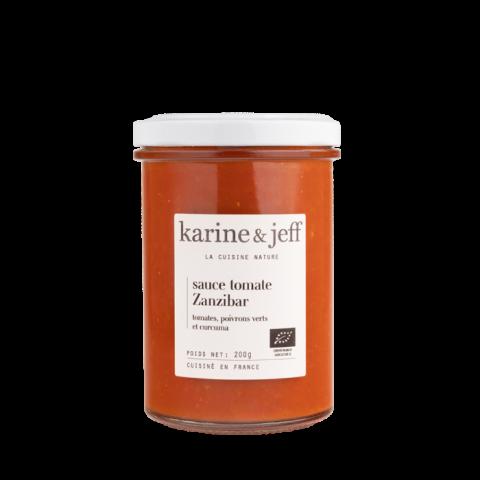 Sauce tomate Zanzibar bio