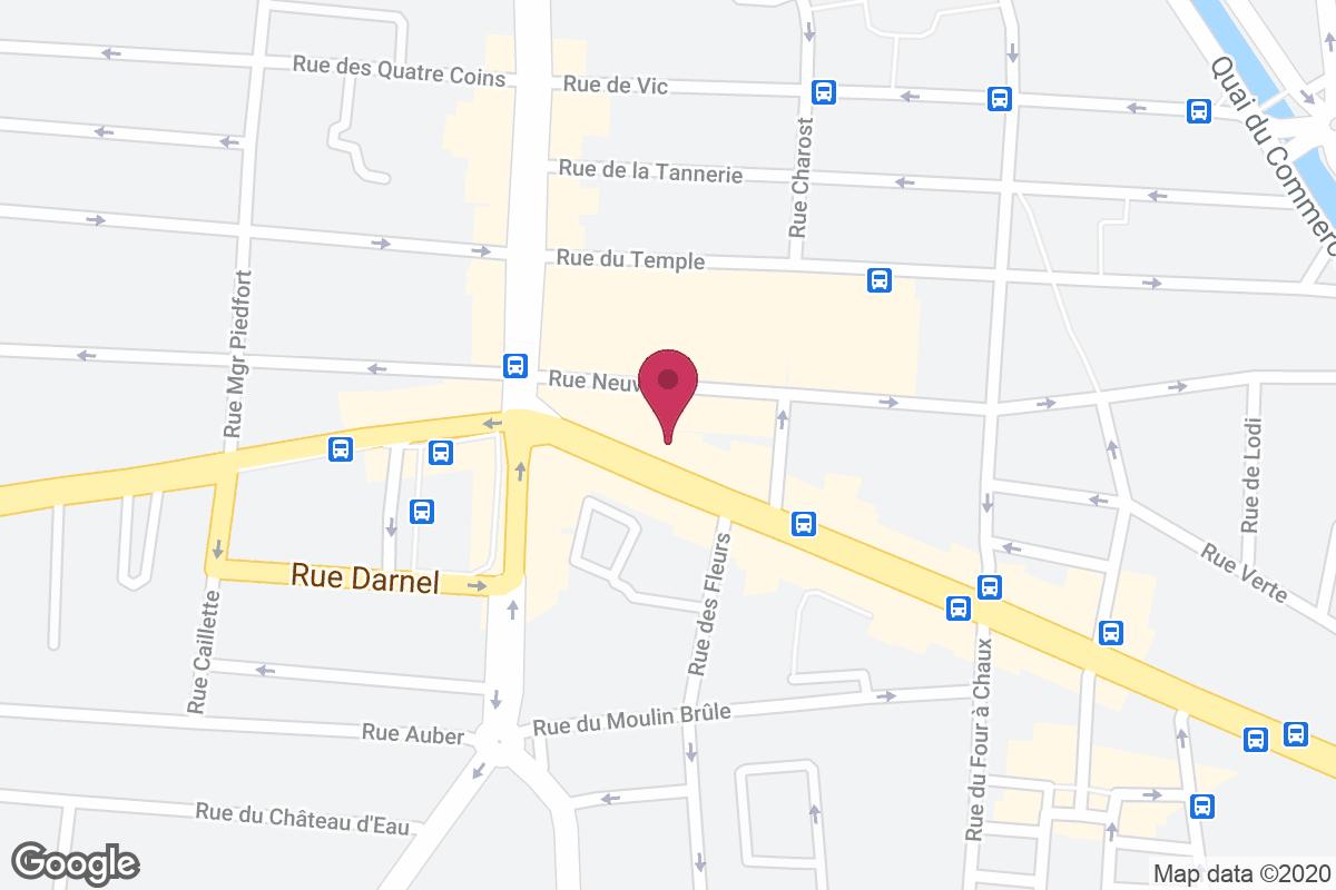 Plan d'accès pour Bijouterie LAMBERT