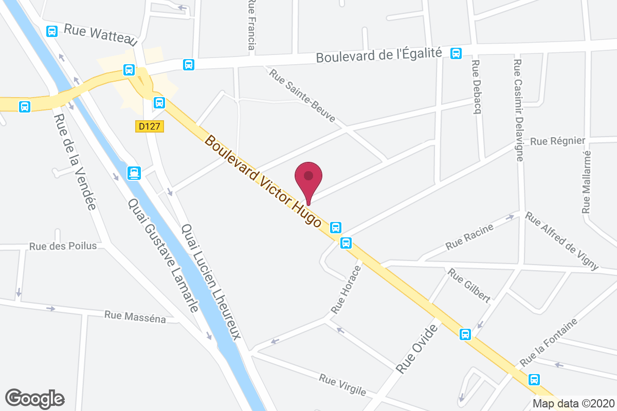Plan d'accès pour Boulangerie Lamothe